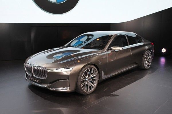 2014 BMW Vision Side Photos 600x401 2014 BMW Vision Future Luxury Review With Images