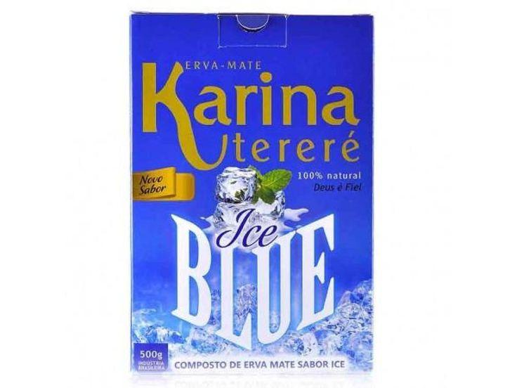 Erva Mate Karina ICE BLUE 500g