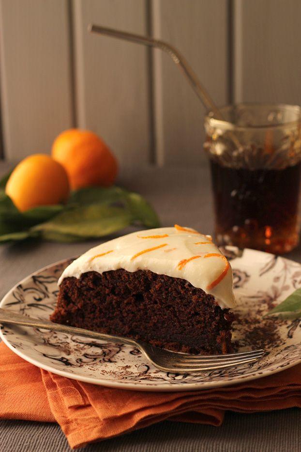 Delicious #chocolate orange Kinnie cake - a new Maltese recipe. Malta Direct will help you plan your trip!