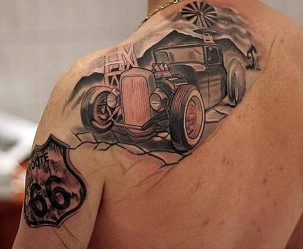 Hervorragend 21 best tattoos images on Pinterest | Hot rod tattoo, Molon labe  MN95