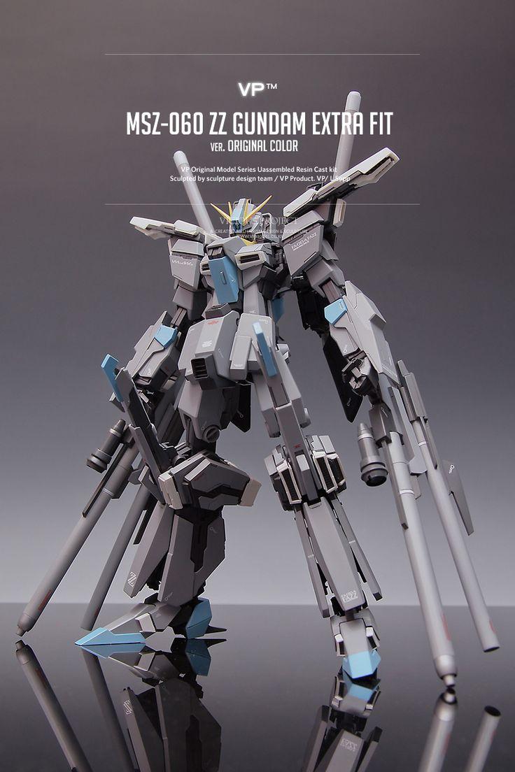 [VP Resin Cast] MSZ-060 ZZ Gundam Extra Fit Ver.Original  Color – FAZZ: Photoreview Wallpaper Size Images | GUNJAP