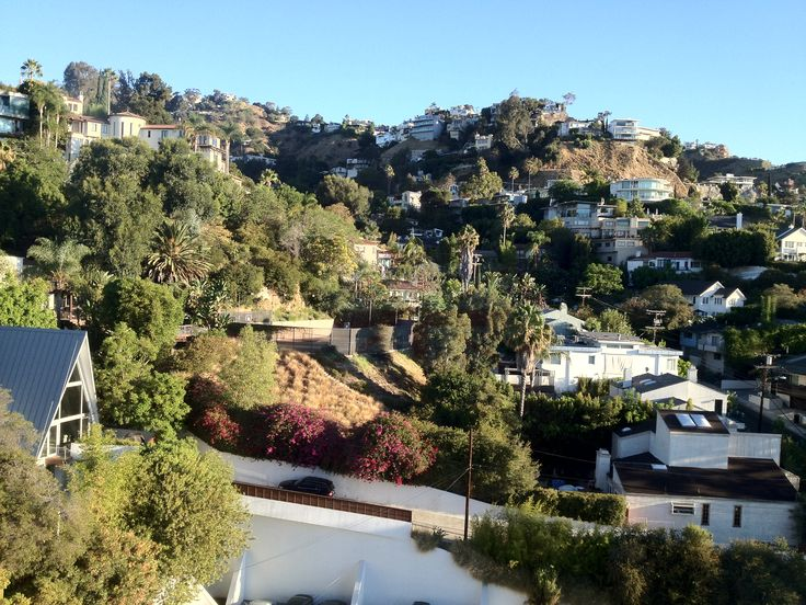 Spectacular view of West Hollywood from the 14th floor of The Andaz hotel.