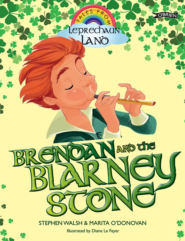 When Brendan the leprechaun plays the tin whistle, the sound is sweeter than the sweetest songbird. But if only he could speak as well as he plays! His words spill out in a terrible jumble – he goes to the shop to buy peas and accidentally comes home with cheese!  Could kissing the famous Blarney Stone, which is said to give you the 'gift of the gab', be the answer to all Brendan's problems?