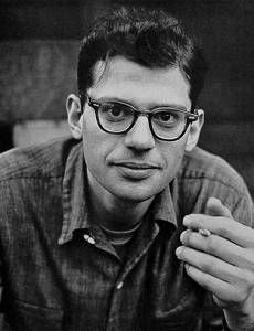 """poetry is not an expression of the party line. It's that time of night, lying in bed, thinking what you really think, making the private world public, that's what the poet does."" - Allen Ginsberg"