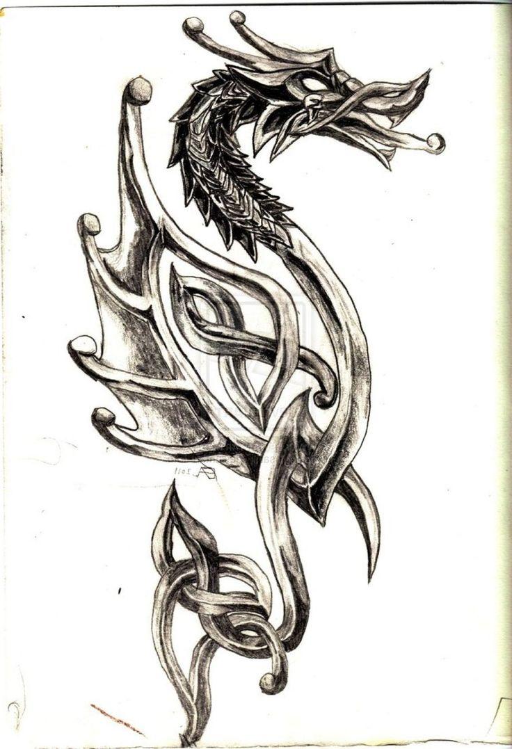 amazing celtic dragon tattoo designs tattoo tattoos pinterest celtic tattoo. Black Bedroom Furniture Sets. Home Design Ideas