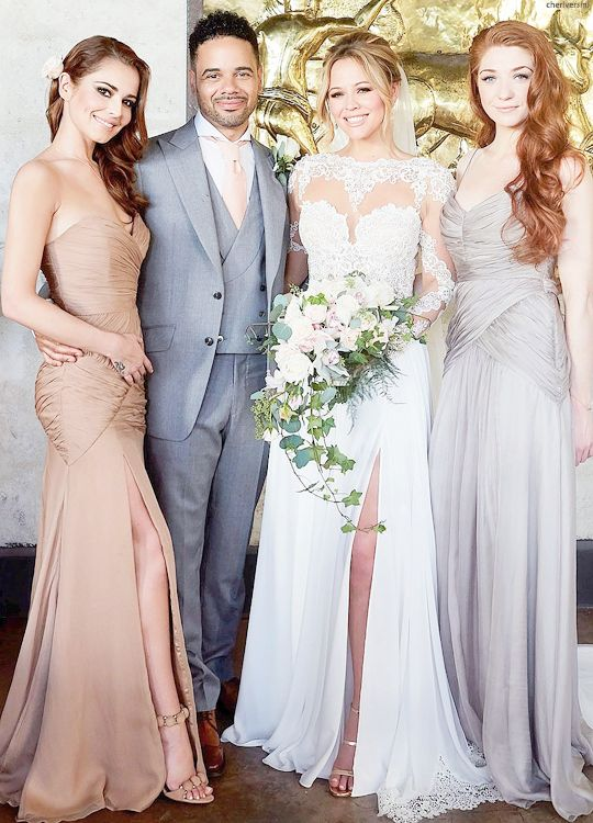 kimberley scott on her wedding day with husband justin