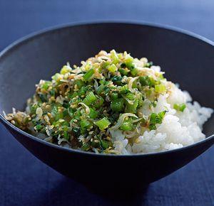 かぶの葉とじゃこのふりかけご飯 | 田口成子さんのレシピ【オレンジ ...
