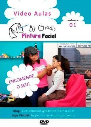 O DVD de Pintura Facial Infantil contém 12 desenhos pequenos + 1 desenho de borboleta mais elaborado para quem está começando na pintura facial.  Com 115 minutos aula.  Também dicas de materias, tintas próprias para o rosto e diversos acessórios.