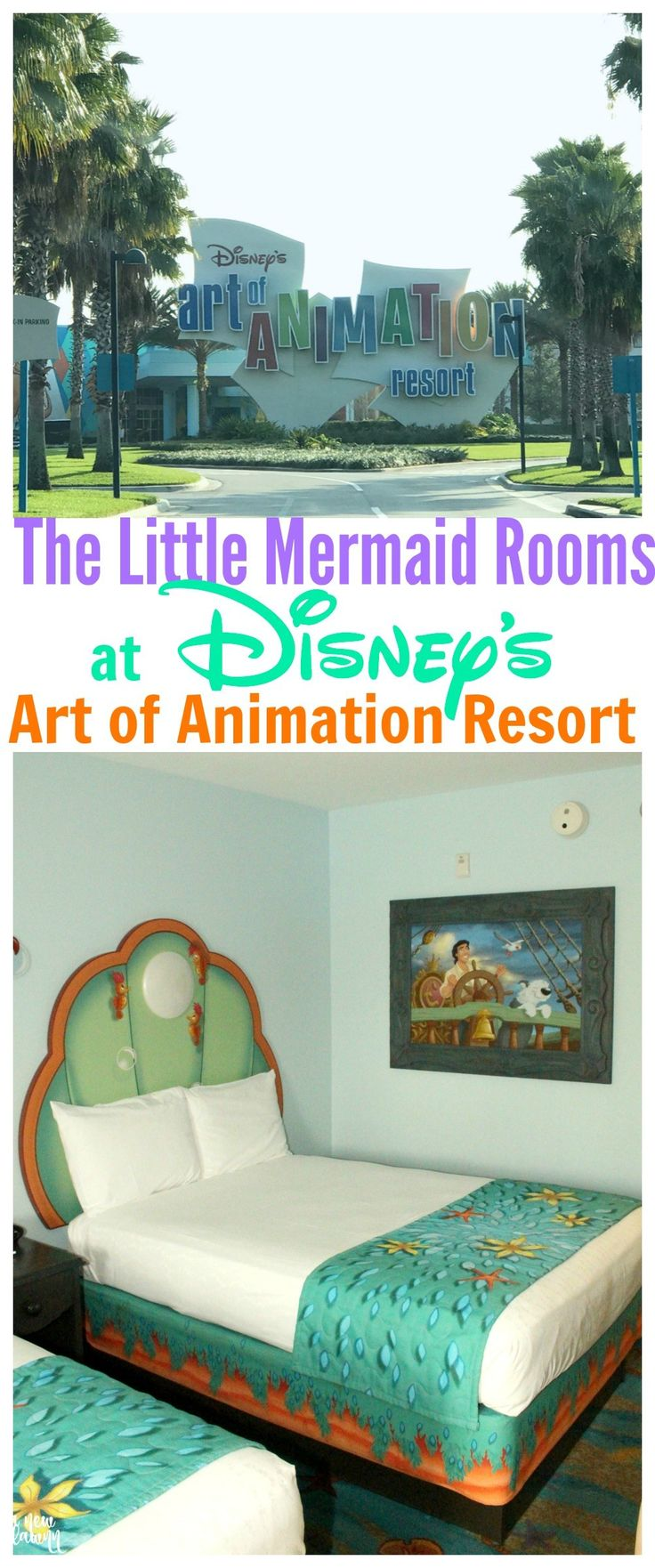 Disney's Art of Animation Resort - The Little Mermaid Rooms