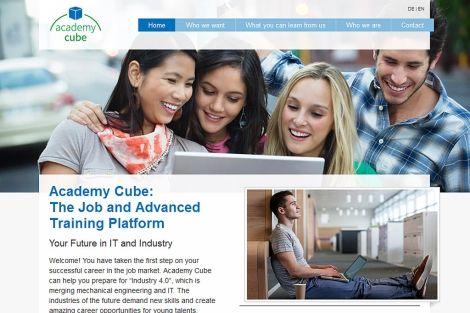 Academy Cube, la plataforma #elearning europea llega a España.