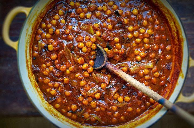 Веганский Нежданчик: Нутовое рагу-соус