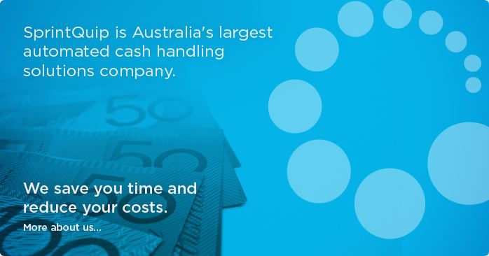 SPRINTQUIP are Australia's leading provider of cash handling solutions/cash systems and are committed to providing a range of products rich in range and function.