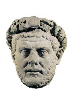 Ritratto Diocleziano, marmo, III sec., Istanbul