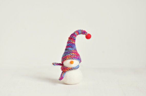 Cute Snowman. Christmas decoration  by ShpilkaFelt, $26.00