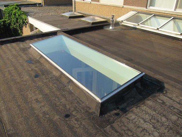 Lichtstraat in aanbouw google zoeken keuken pinterest verandas stair case and window - Veranda met dakraam ...