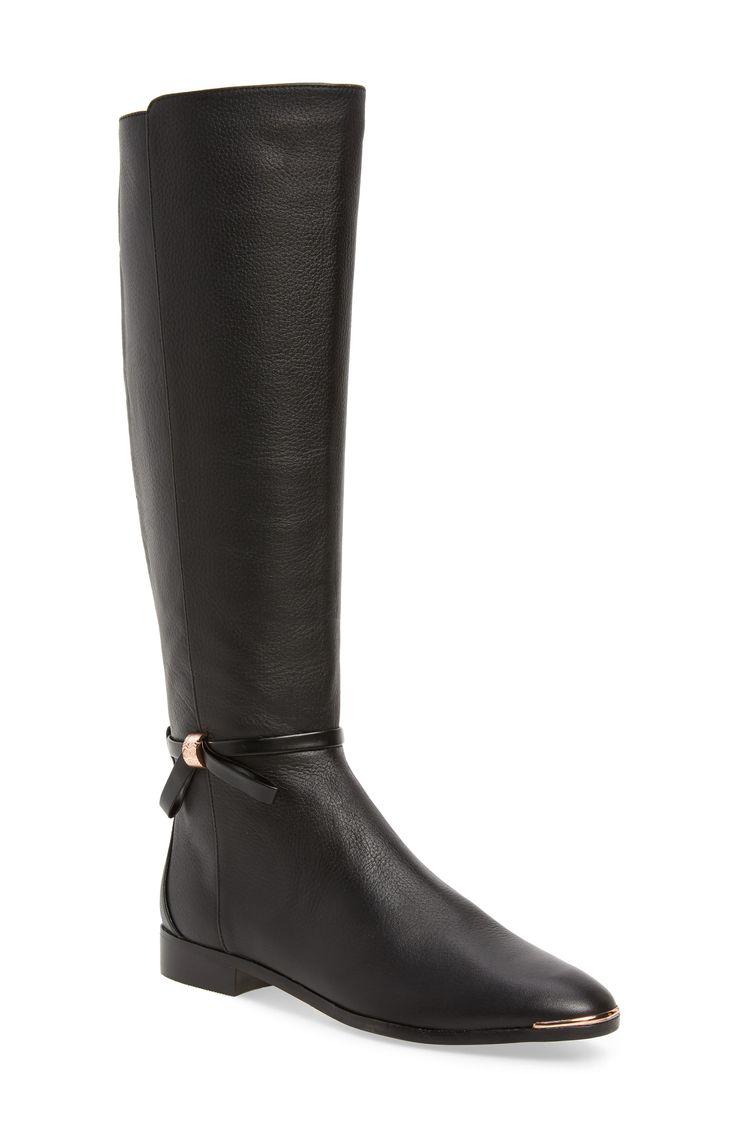 Womens Ted Baker London Lykla Knee High Boot, Size 7Us -5720