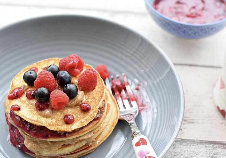 Buckwheat Pancake recipe. A good brunch option and an alternative to the almond pancakes if you are unable to eat nuts or prefer a slightly lighter option.