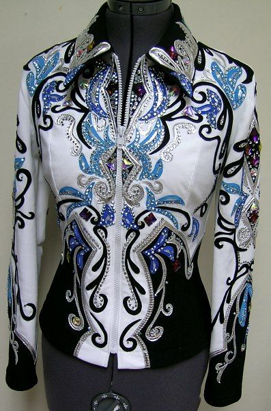 OMGoodness so BEAUTIFUL  Equestrian  Horse Show Showing Western Bling Jacket