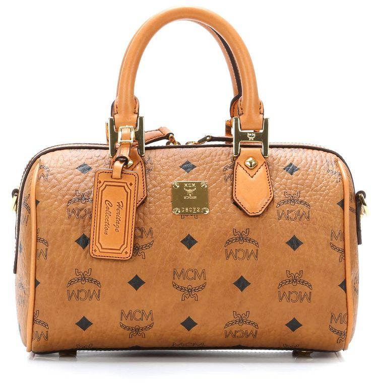 Heritage Line Handtasche cognac 25 cm