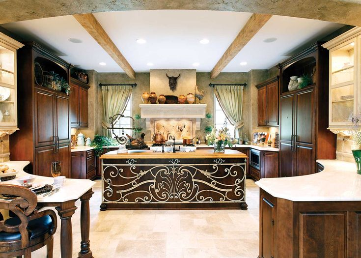 the place to prepare and cook food it's also used for entertaining guests.check out our 25 stunning Mediterranean Kitchen Designs