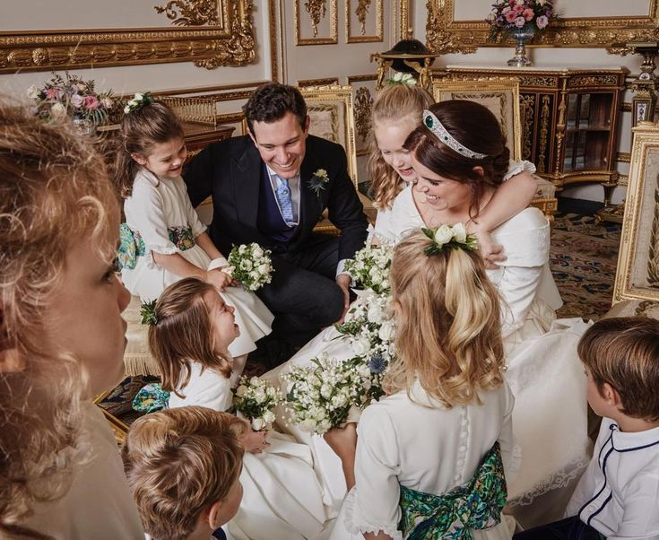 Jack And I Would Like To Thank Everyone Who Was Involved In Making Our Day So Special And For All The Prinzessin Eugenie Hochzeitsportraits Konigliche Hochzeit