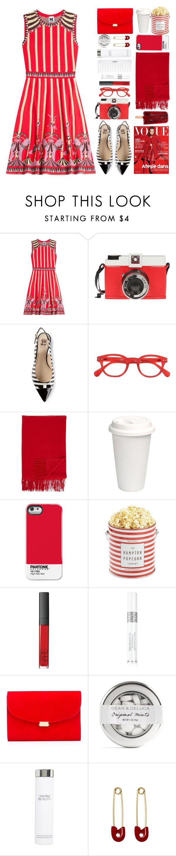 """""""Circus dress"""" by iireneii ❤ liked on Polyvore featuring M Missoni, Edition, Loucos & Santos, See Concept, Barneys New York, The Hampton Popcorn Company, Conair, NARS Cosmetics, Christian Dior and Mansur Gavriel"""