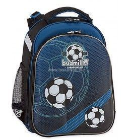 Budmil SALEM sötétkék-kék focilabdás iskolatáska 1022010-S5