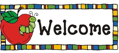 Image result for welcome school clip art