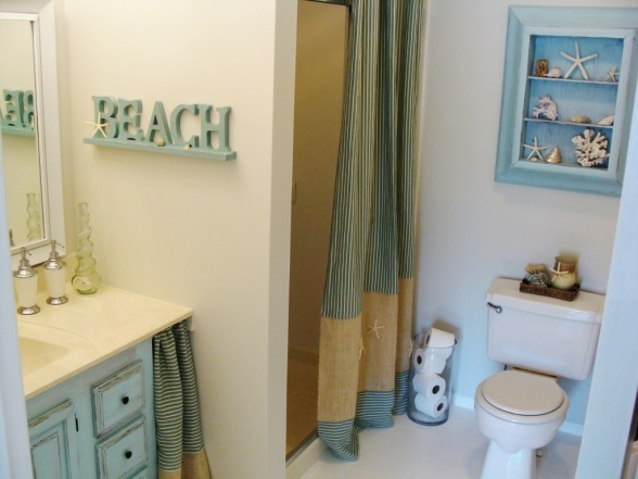 Beach Style Bathroom Captivating 2018