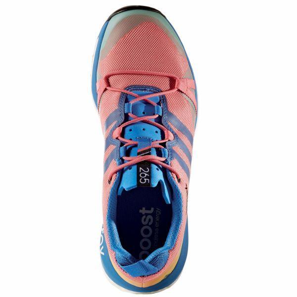 adidas terrex agravic w laufschuhe damen hell pink blau