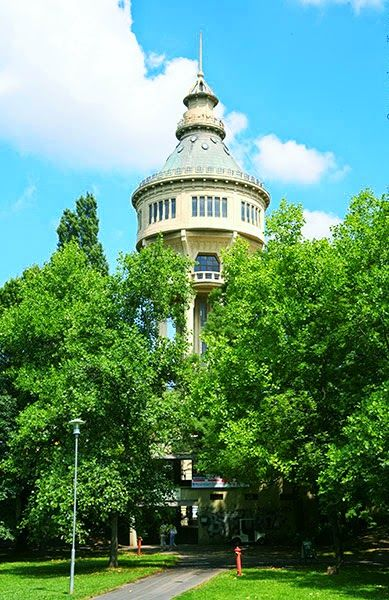 Water Tower at Margitsziget...Budapest