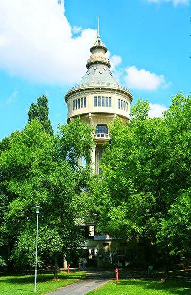 Water Tower at Margitsziget...Budapest