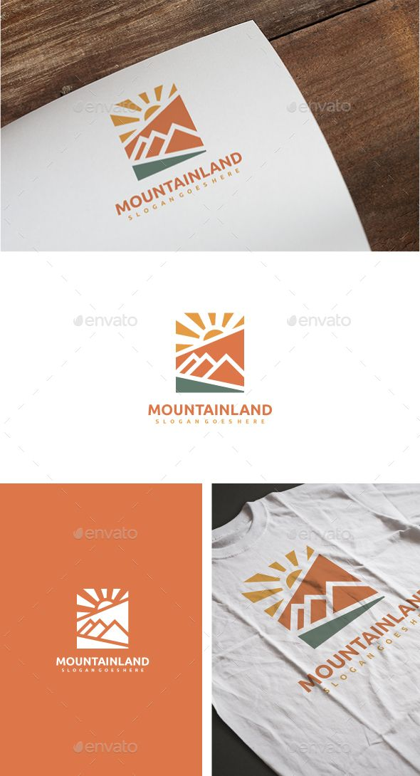 Mountain Adventure Logo Template Vector EPS, AI Illustrator. Download here: https://graphicriver.net/item/mountain-adventure-logo/17568804?ref=ksioks