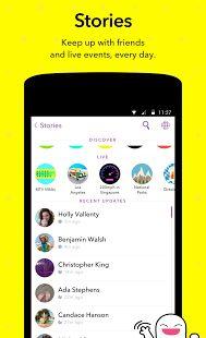 Snapchat- screenshot thumbnail