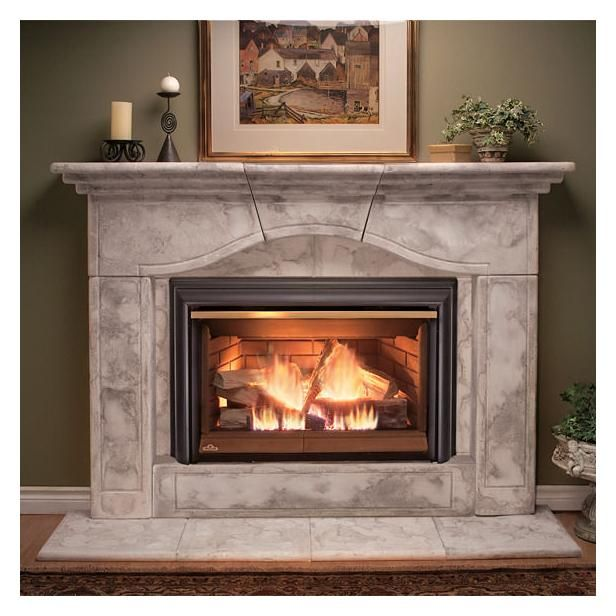 vent free gas fireplace insert basic direct vent fireplace insert natural gas - Natural Gas Fireplace Insert