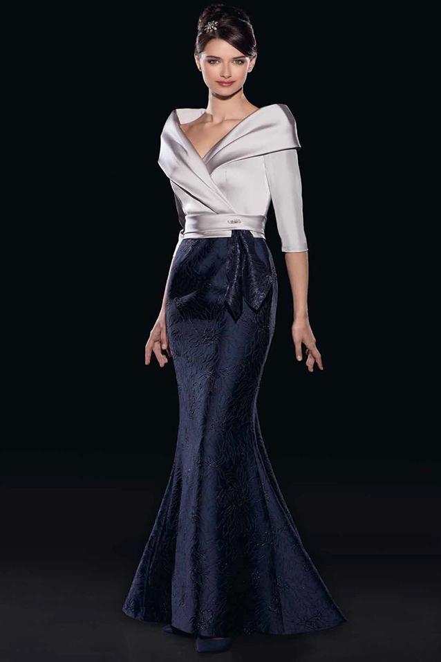 3d59a5067 Vestido de madrina largo corte sirena de Teresa Ripoll 3568 ...