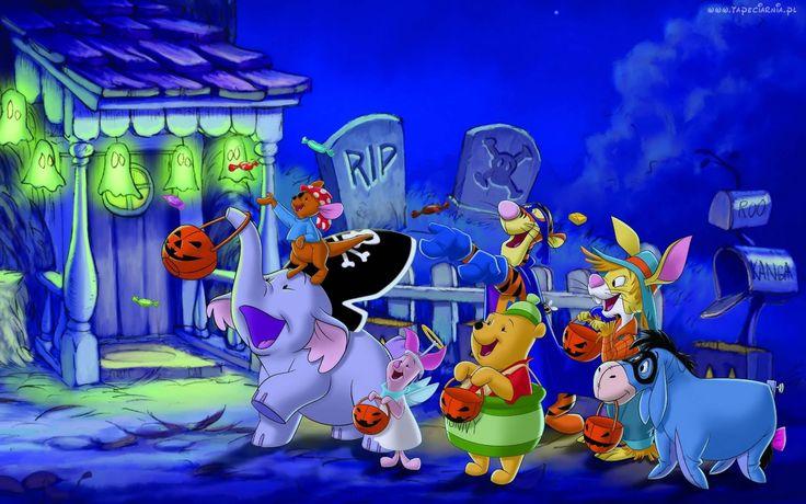 Halloween, Kubuś Puchatek, Przyjaciele
