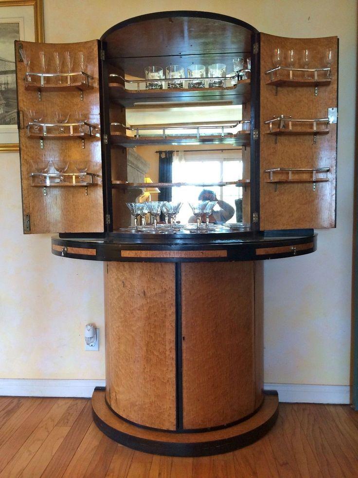 Elegant Vintage Dry Bar Furniture