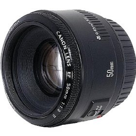 Canon EF 50mm f/1.8 II Camera Lens - I love this lens, especially for portraits. Inexpensive. And super fast.