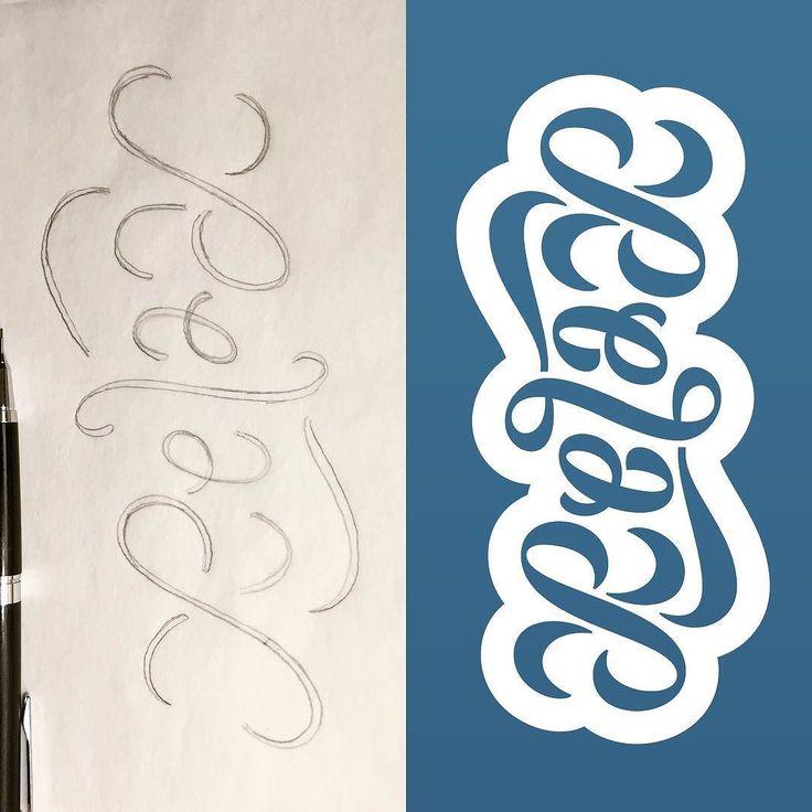 Best illustration typography images on pinterest
