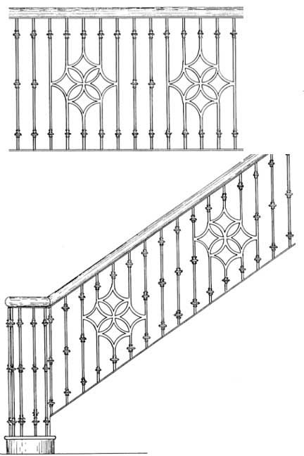 Stair Railing Designs ISR402