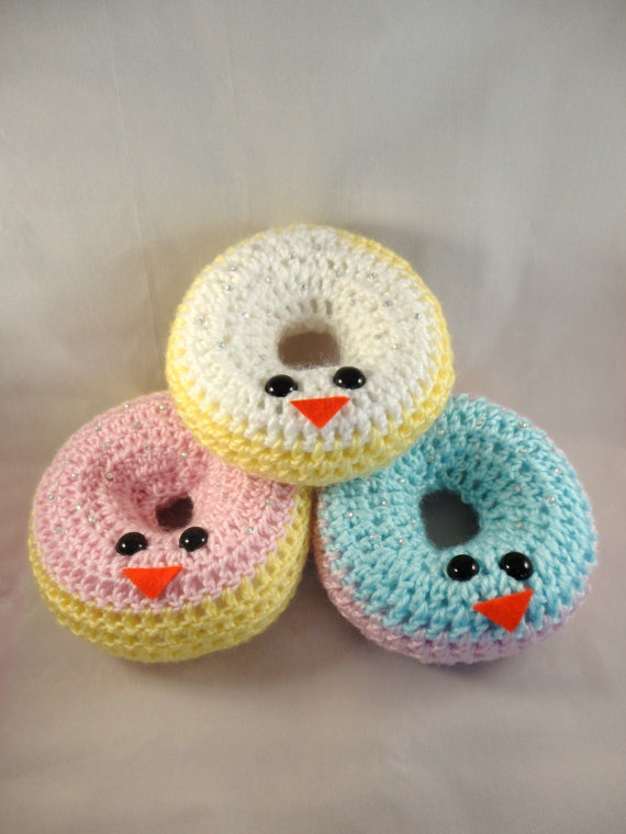 Amigurumi Donut : 121 best images about Angelic Strawberry Etsy Store Items ...