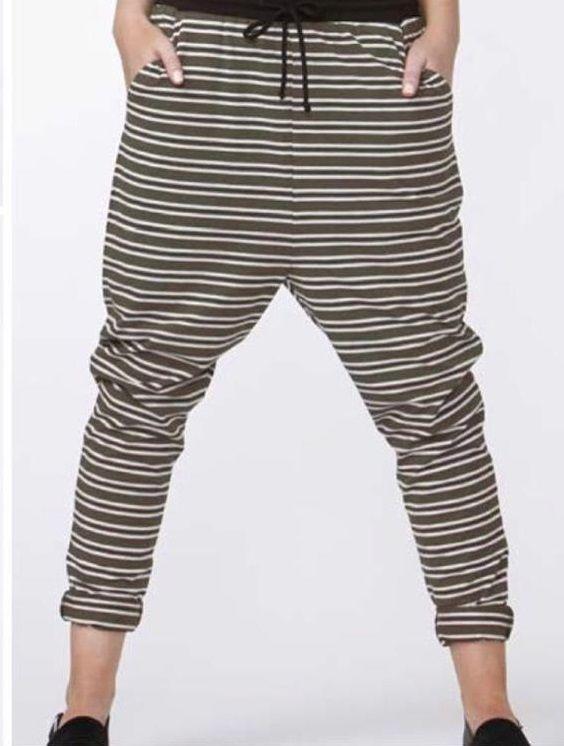 Betty Basics - Jade Pant Black Multi Betty Basics*