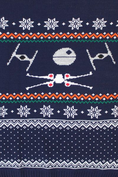 Star Wars Official X Wing Knitted Christmas Jumper – BAY 57