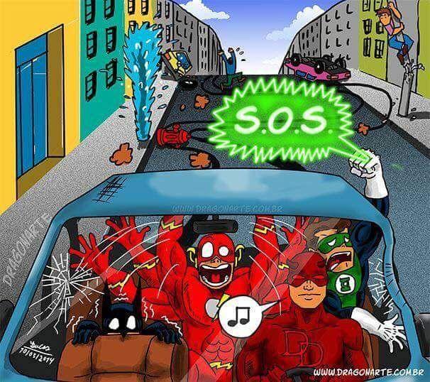 Funny Super Hero Comics by DRAGONARTE - Imgur