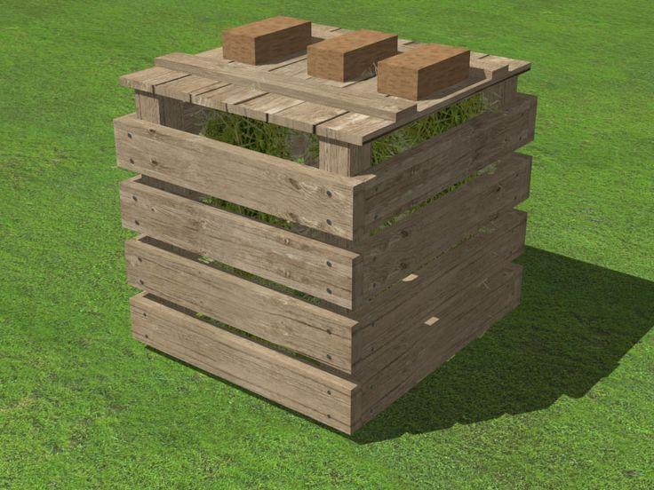 25 Best Ideas About Bacs Compost En Palettes Sur Pinterest Compost Bacs De Compostage Et
