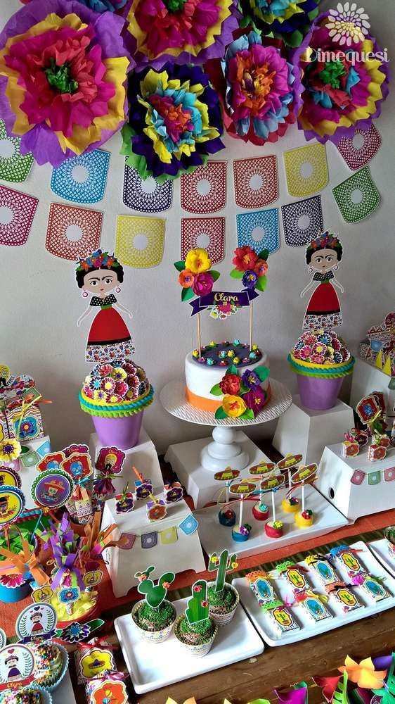 Fiesta / Mexican Birthday Party Ideas | Photo 1 of 27