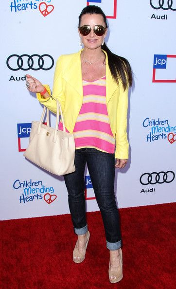 Kyle Richards Photos - Arrivals at the Children Mending Hearts Style Sunday - Zimbio