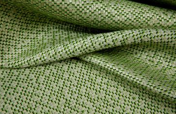 Native Rattan Indoor-Outdoor Upholstery in Green traditional outdoor fabric