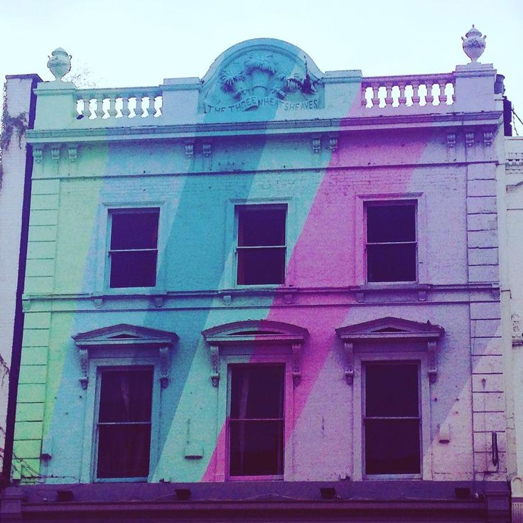 Colourful facade in Angel, one of Touriocity's favourite neighbourhoods in London
